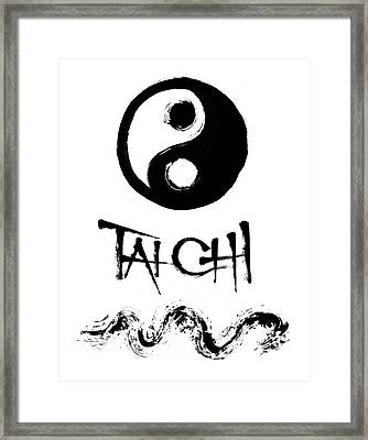 Tai Chi Framed Print