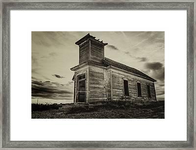 Taiban Presbyterian Church, New Mexico #2 Framed Print