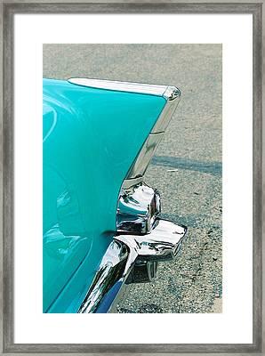 Tail Fin Framed Print by Lauri Novak