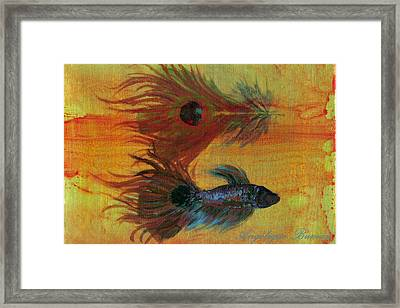 Tail Study Framed Print