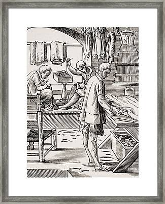 Tailor. 19th Century Reproduction Of Framed Print