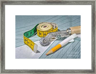Tailoring Objects Framed Print by Torsten Becker