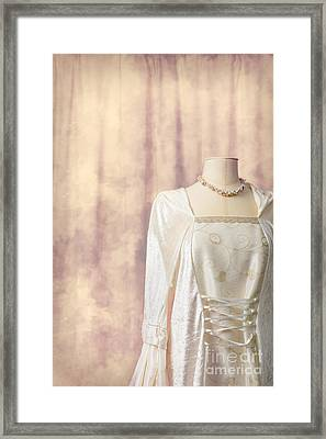 Tailors Dummy Framed Print by Amanda Elwell