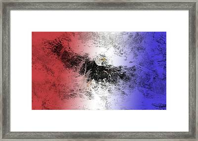 Tainted Eagle Framed Print