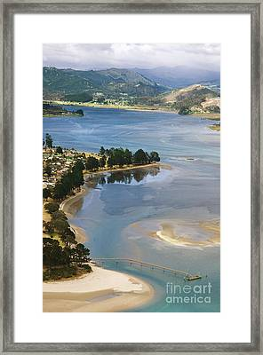 Tairua Harbour Framed Print by Himani - Printscapes