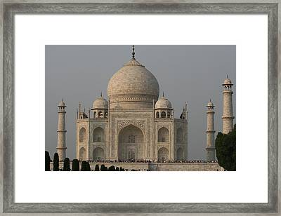 Taj Mahal Framed Print by Andrei Fried