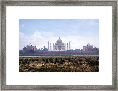 Taj Mahal - India Framed Print by Joana Kruse