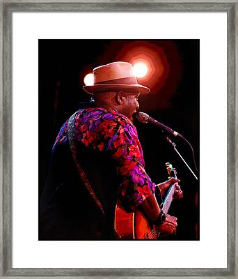 Framed Print featuring the photograph Taj Mahal by Jim Mathis
