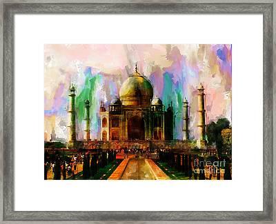 Taj Mehal 009 Framed Print by Gull G