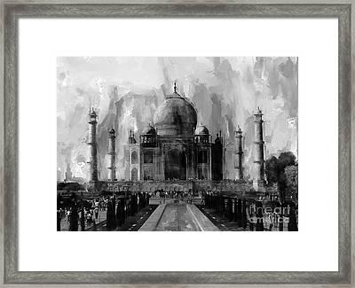 Taj Mehal Indian Framed Print by Gull G