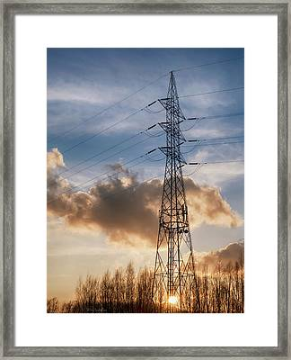 Take A Break Framed Print