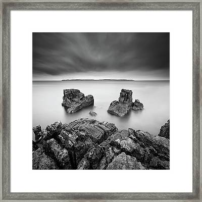 Take A Breath Framed Print