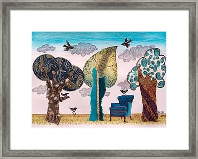 Take A Rest In Spring Framed Print