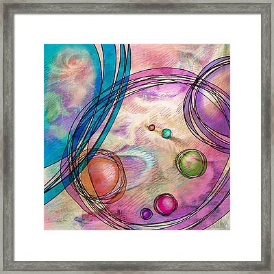 Take A Right Up Here Framed Print by Rachel Christine Nowicki