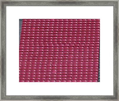 Take A Seat Framed Print by Dan Sproul