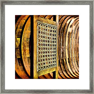 Take A Seat Framed Print by Russell Styles