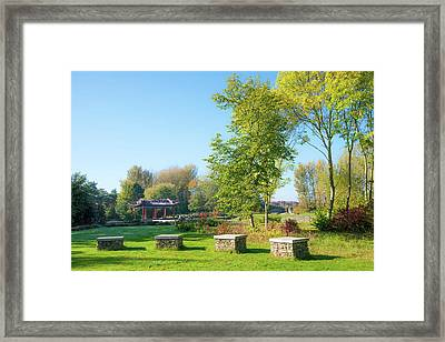 Take A Seat Framed Print by Svetlana Sewell