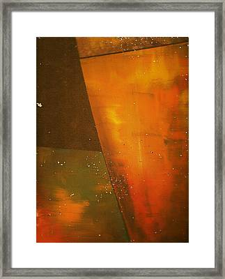 Take A Sip Of The Golden Hour Framed Print by Anne-Elizabeth Whiteway