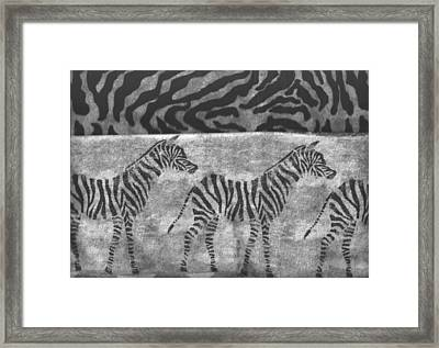 Take A Walk On The Wild Side Framed Print by Anne-Elizabeth Whiteway