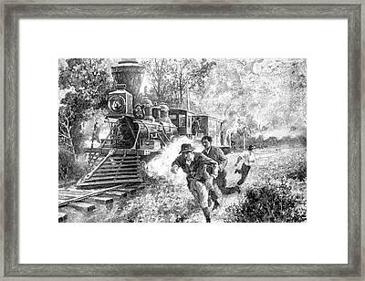 Take Cover Framed Print by Dennis Baswell