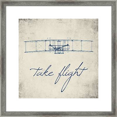 Take Flight Framed Print by Brandi Fitzgerald