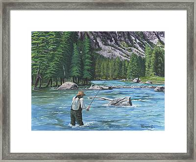 Take It  Take It  Framed Print by Timithy L Gordon