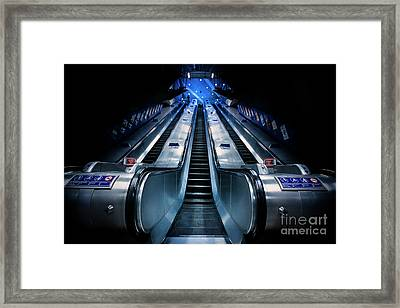 Take It To The Top Framed Print