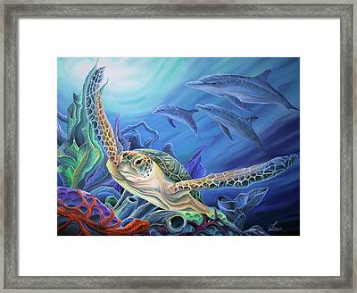 Taking Flight Framed Print by William Love