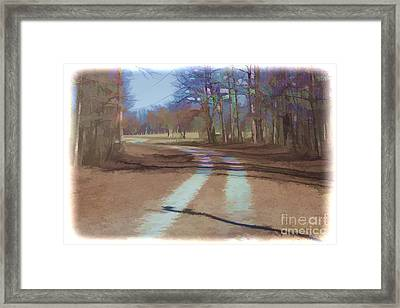 Take Me Home Country Road Framed Print