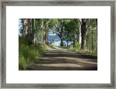 Take Me Home Country Roads Framed Print