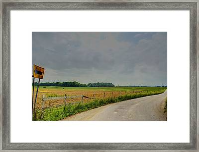 Take Me Home Framed Print by Off The Beaten Path Photography - Andrew Alexander