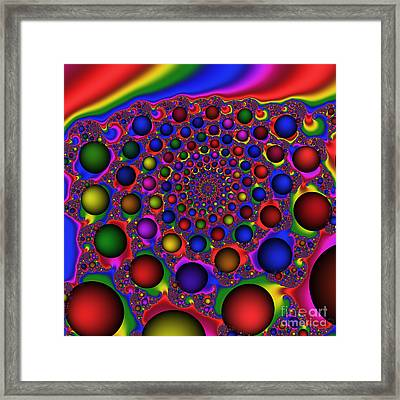Take Me Out To The Ball Game 179 Framed Print by Rolf Bertram