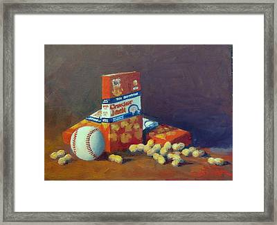 Take Me Out To The Ball Game Framed Print
