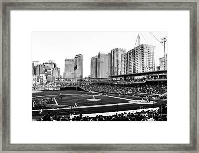 Take Me Out To The Ballgame Framed Print by Robert Yaeger