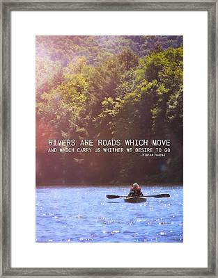 Take Me There Quote Framed Print by JAMART Photography