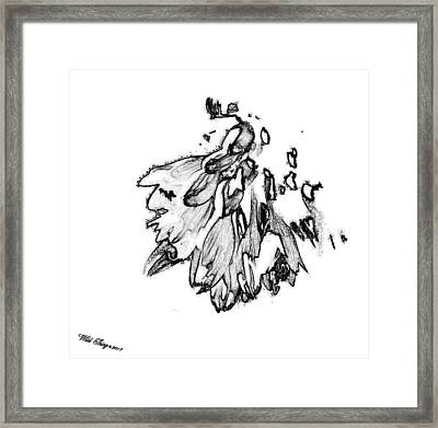 Take Me To Church Lines Framed Print by Wild Thing