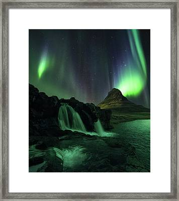 Take Me To Church Framed Print by Tor-Ivar Naess