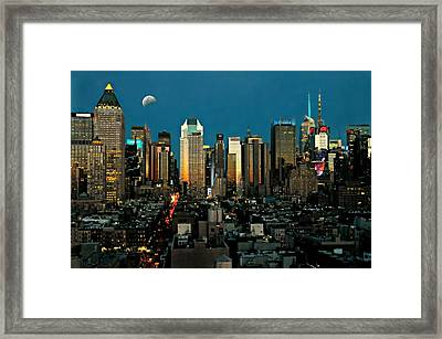 Take Me To Manhattan  Framed Print by Diana Angstadt