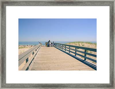 Take Me To The Beach Framed Print by Colleen Kammerer