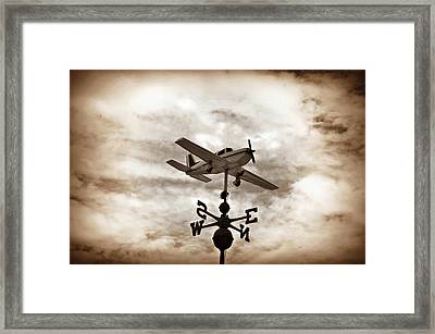Take Me To The Pilot Framed Print by Bill Cannon