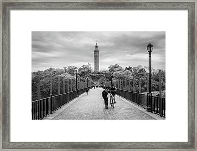 Take Me With You Framed Print by Bautista NY