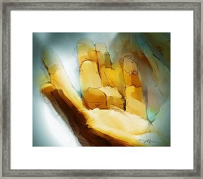 take My hand Framed Print by Bob Salo
