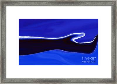 Take My Hand Framed Print by Mimo Krouzian