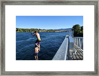 Take Our Picture 3 Framed Print