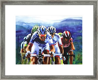 Take That Framed Print by Shirley Peters