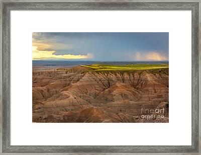 Take The High Road Framed Print