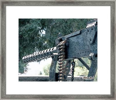 Take The Shot Framed Print