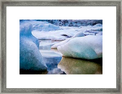 Take The Space Between Us And Fill It Up Some Way Framed Print