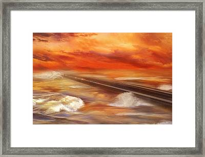 Take The Weather With You Framed Print