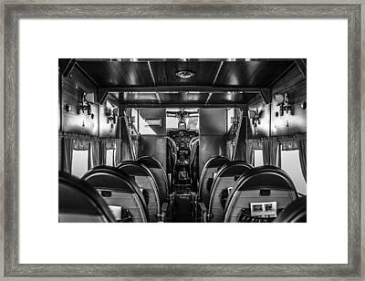 Take Your Seat Framed Print